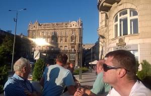 Kesä vain jatkuu budapestissa.