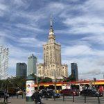 Varsovan vihatuin pilvenpiirtäjä.