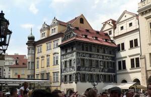 Prahan vanha keskusta on tyylikäs.