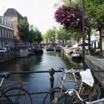 Amsterdam on kaunis kaupunki.